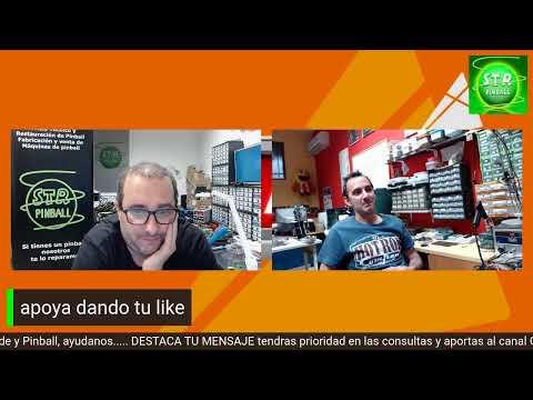 #10-D Consultorio Tecnico Pinball y Arcade en Directo 21/05/21