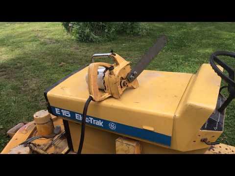 GE Elec-Trak Chain Saw - No blade