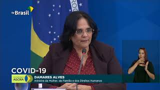 15.05.20 - Ministros falam sobre ações de combate à Covid-19