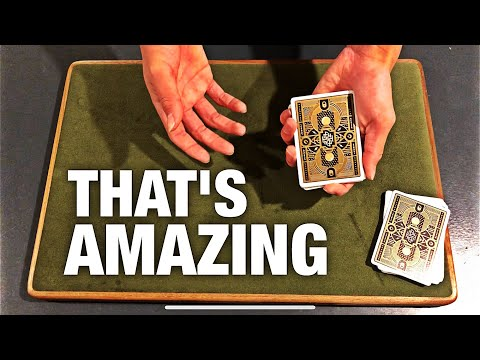 The EASIEST No Setup Card Trick Will FOOL EVERYONE!