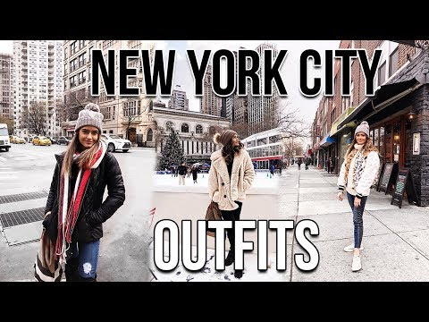 connectYoutube - NEW YORK CITY WINTER OUTFITS LOOKBOOK | Natalie Barbu