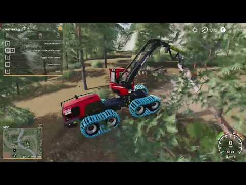 Komatsu Forest - Gameplay Farming Simulator 19