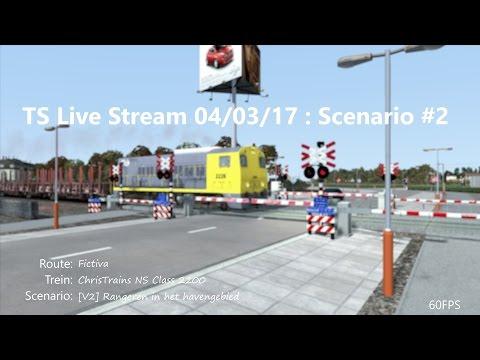 [V2] Rangeren in het havengebied (Livestream 04/03/2017)