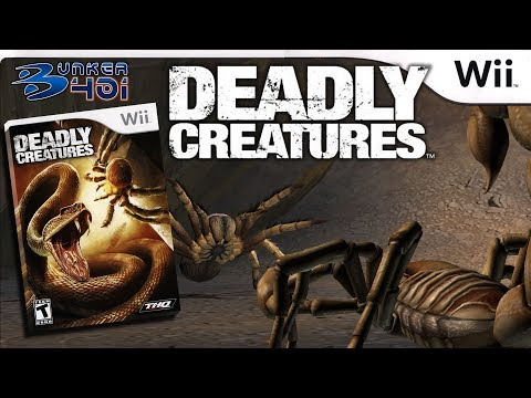 Deadly Creatures (Rainbow Studios/THQ,2009)   Wii   Gameplay   Retro
