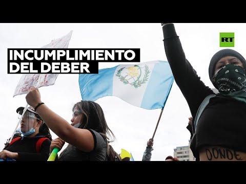 Justicia de Guatemala investigará a policías por la represión de protestas contra los presupuestos