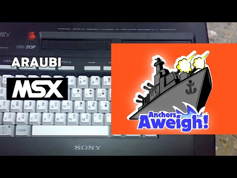 Anchors Aweigh (Manuel Martinez, 2020) MSX [754] Walkthrough