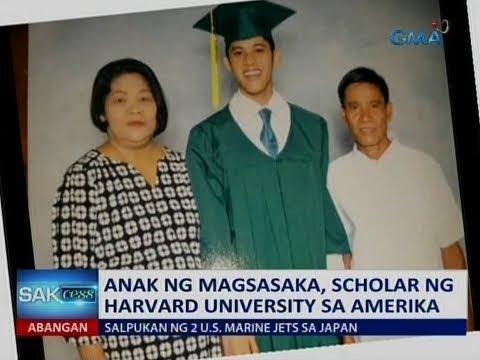 Saksi: Anak ng magsasaka, scholar ng Harvard University sa Amerika