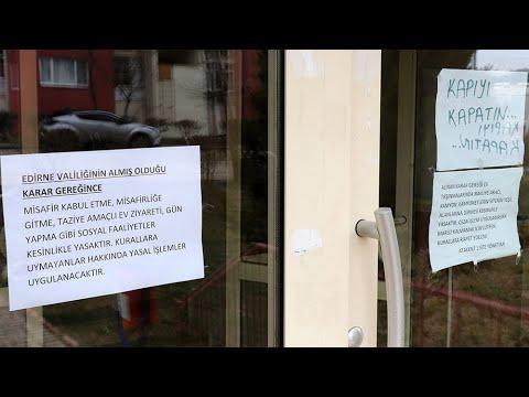 Vaka sayısı artan Keşan'da ev ziyaretleri yasaklandı