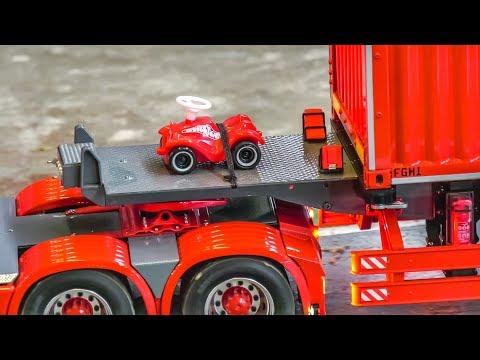 RC TRUCKS! TRACTORS! MACHINES! BIG ACTION!