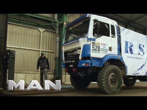 MAN trucks - Shipping to Rallye Dakar 2017
