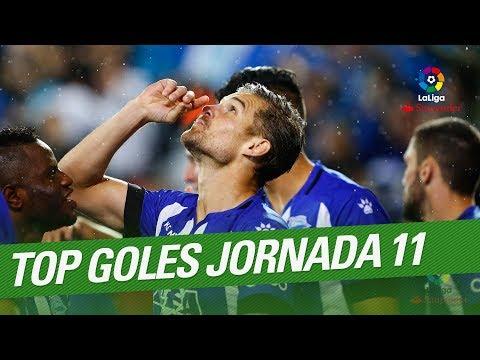 TOP 5 Goles Jornada 11 LaLiga Santander 2017/2018