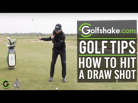 How To Hit A Draw Shot - Improve Your Iron Play Series