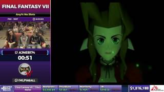 Final Fantasy VII by ajneb174 in 7:48:04 - SGDQ2017 - Part 125