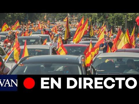 DIRECTO: Protesta de conductores contra el estado de alarma en Madrid