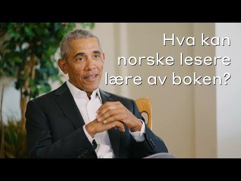 Hva kan norske lesere lære? Et lovet land - Barack Obama