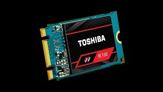 ?Toshiba OCZ RC100 Smallest NVMe M.2 SSD Review