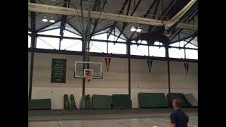 Самые лучшие и невозможные баскетбольные трюки