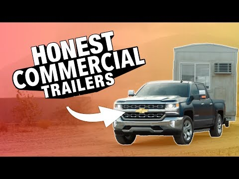 """Chevy """"Real People"""" Honest Commercial Trailers (Silverado Strong V8 Trailer) Honest Trailers Parody"""