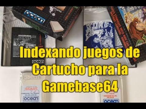 Commodore 64 Real 50Hz - Indexando juegos de Cartucho para la Gamebase64 (Letra D)(III)