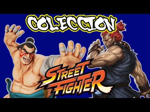 COLECCION FIGURAS STREET FIGHTER ENTREGAS 14 y 15