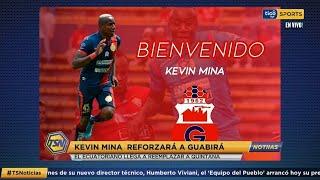 #TSNoticias ???? Kevin Mina reforzará a Guabirá