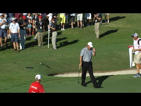 Phil Mickelson shows off short game magic at the TOUR Championship