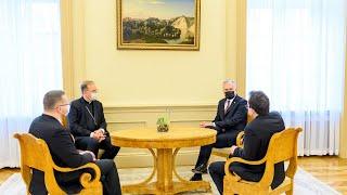 Prezidentas susitinka su Lietuvos tradicinių krikščioniškųjų bendrijų vadovais
