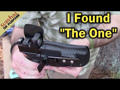 My Quest for the Best Concealed Carry Holster Ended With This One