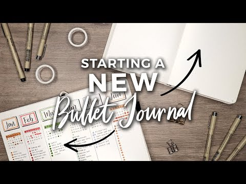 Starting a NEW Bullet Journal?!