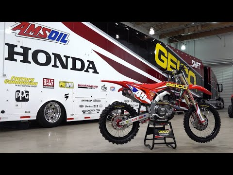 Up Close & Personal With Kevin Windham's MXoN Race Bike