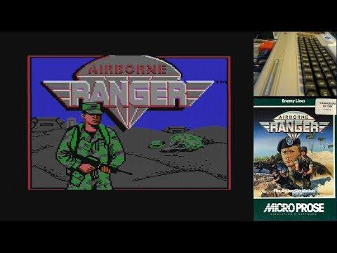Airborne Ranger - Parte 1 - Serie de Juegos Épicos en Commodore 64 real