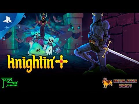 Knightin'+ - Launch Trailer | PS4, PS Vita