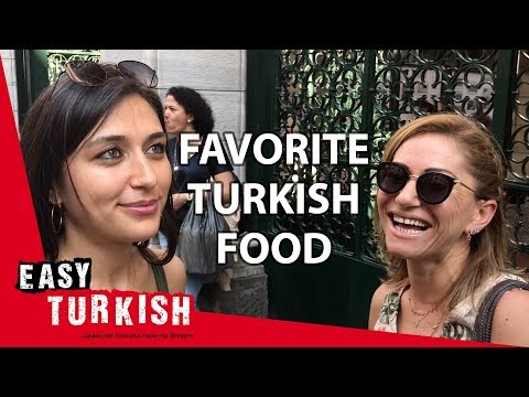 What's your favourite Turkish food? | Easy Turkish 17 photo