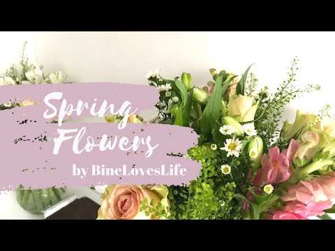 Blumenliebe - Flower Box Unboxing and arranging