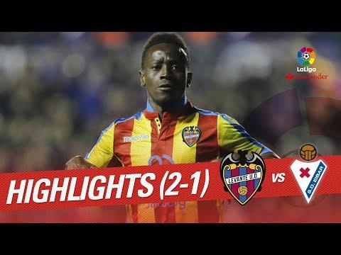 Resumen de Levante UD vs SD Eibar (2-1)