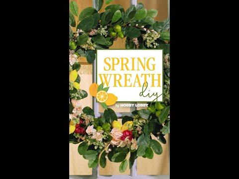 DIY Spring Wreath | Hobby Lobby®