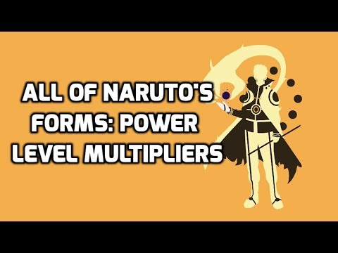 ALL NARUTO FORMS MULTIPLIERS