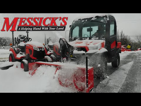 Kubota RTV-x1100 with V5296 Snow Blower. Demo and Review. ❄🌨 Picture