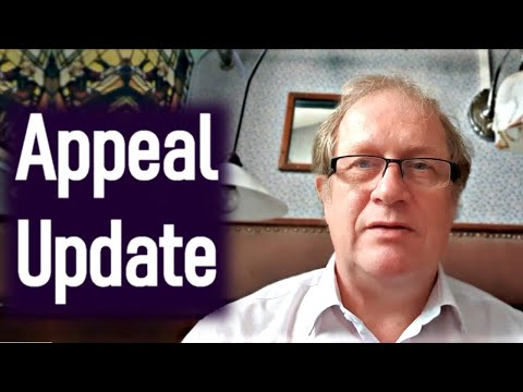 Appeal Update from Dr. David Mackereth