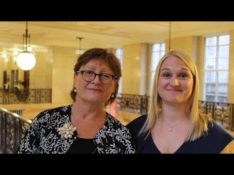 [Autumn 2017] Tricia King, Fellow of the College and Sarah King, LLM