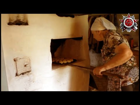 Baking Delicious Pastry In Wood Fired Masonry Stove 2019 Grandma Homestead
