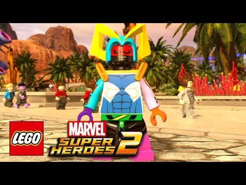 connectYoutube - LEGO Marvel Super Heroes 2: Version 1.03 - DLC Parts Added To The Character Customiser!