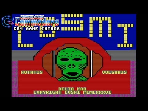 C64 Game Intro: Delta Man (Cosmi,1986)