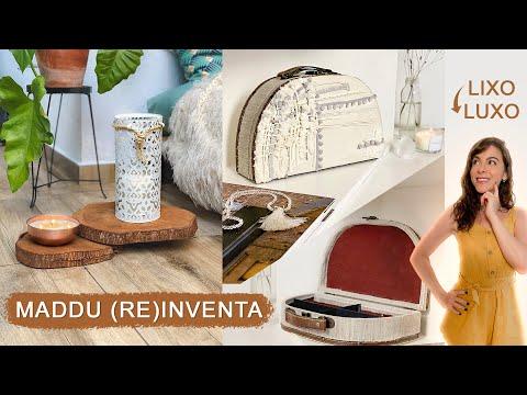DIY Transformei Objetos Aleatórios em Decors incríveis! – Do Lixo ao Luxo!