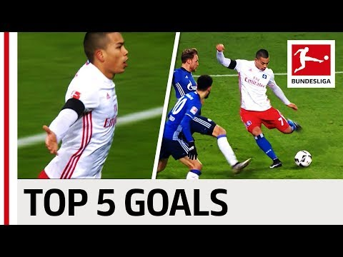 Bobby Wood - Top 5 Goals - Updated