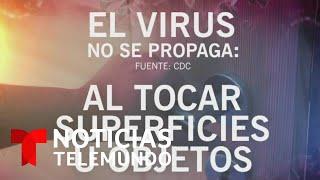 Los CDC actualizaron su guía sobre las formas de transmisión del coronavirus | Noticias Telemundo