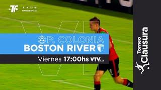 Fecha 8 - Plaza Colonia vs Boston River - Clausura