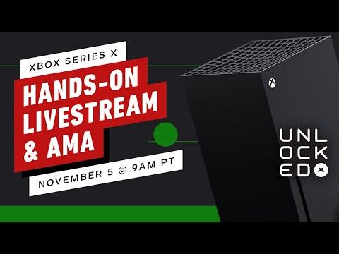 Xbox Series X: Live Showcase & AMA Live Stream | Unlocked