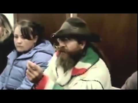 Mountain Man arrested for trying to feed himself, owns judge and walks out fixed