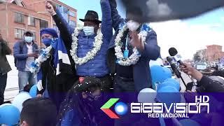 ARCE REFORZÓ  CAMPAÑAS  DEL MAS A MENOS DE UN MES DE SUBNACIONALES